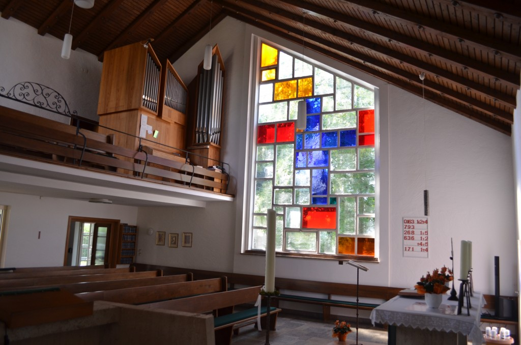 Innenraum Erlöserkirche